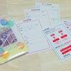 【無料DL】非常用持ち出し袋用「あんしんアルバム」の家族情報カード