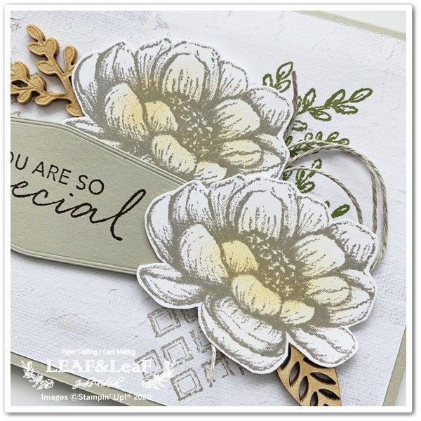 お花 スタンプ