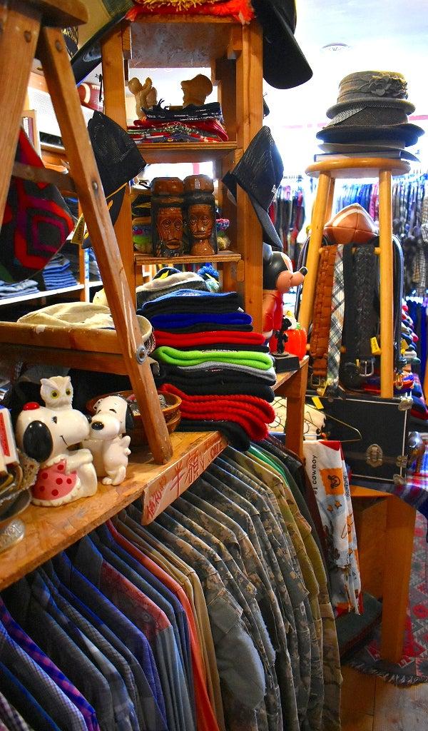 コロナ営業再開お買い物@古着屋カチカチ店内画像