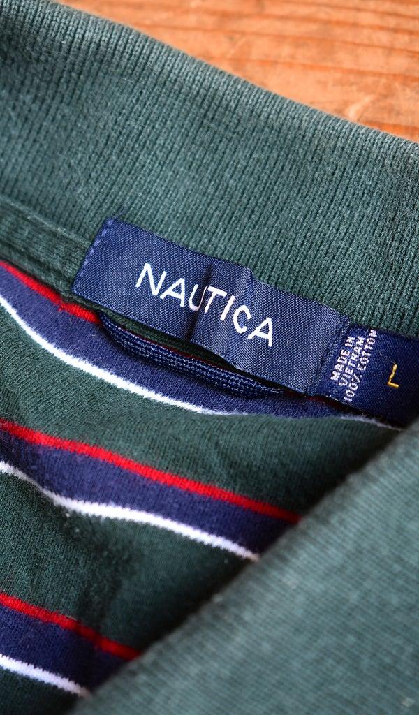 ノーティカNautica半袖ポロシャツ古着屋カチカチ