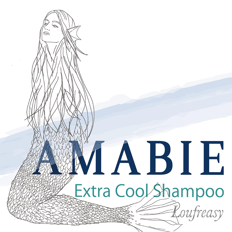 """【パッケージ完成】夏の髪と地肌を保湿する """"極寒"""" クールシャンプー【AMABIE(アマビエ)】"""