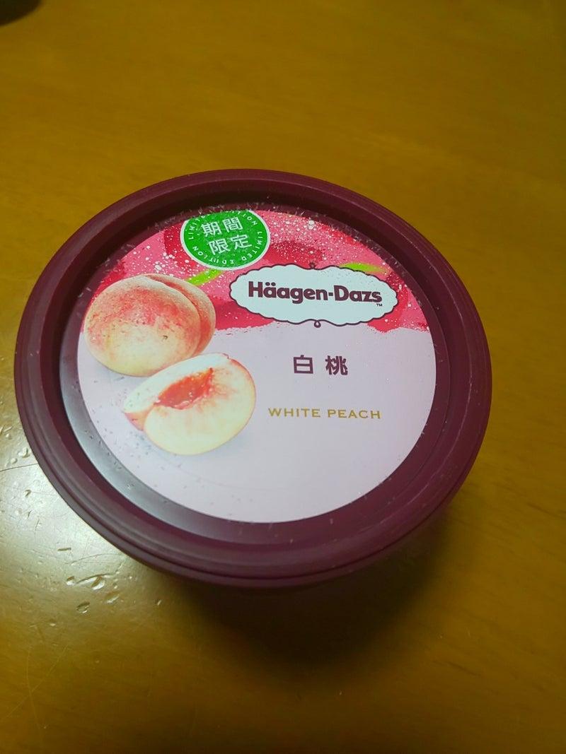 白桃 ハーゲンダッツ