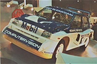 1985年 初めての東京モーターショーは広かった 世界で活躍4輪 ...