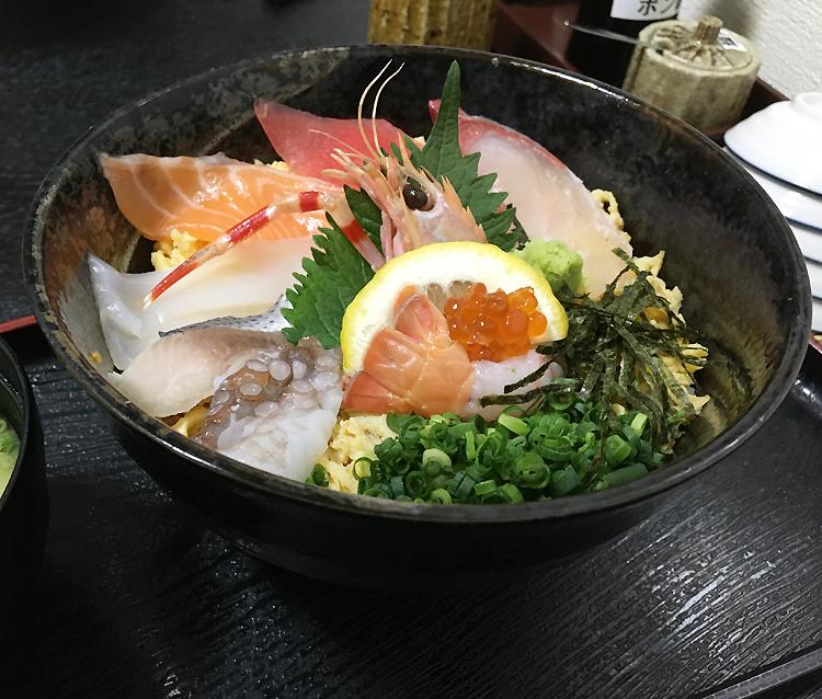 海鮮丼 州二郎 早良区高取