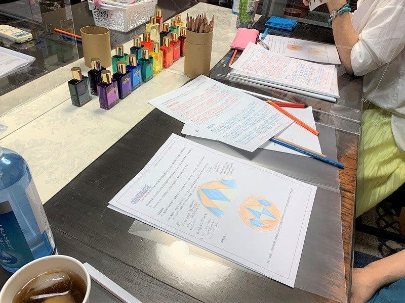 オレンジとブルー補色の勉強会