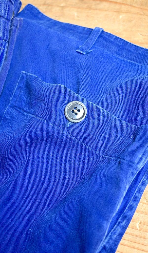70sビンテージフレンチワークパンツ古着屋カチカチ