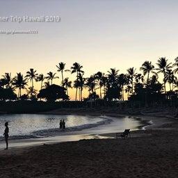 画像 【アウラニ・ディズニー】サンセット後のビーチとプールも素敵でした! の記事より 9つ目
