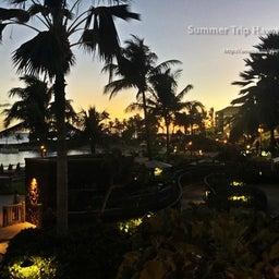 画像 【アウラニ・ディズニー】サンセット後のビーチとプールも素敵でした! の記事より 12つ目