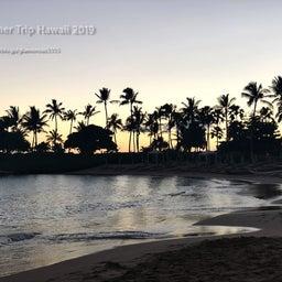 画像 【アウラニ・ディズニー】サンセット後のビーチとプールも素敵でした! の記事より 8つ目