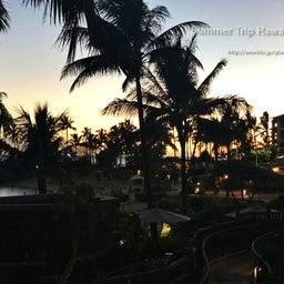 画像 【アウラニ・ディズニー】サンセット後のビーチとプールも素敵でした! の記事より 13つ目