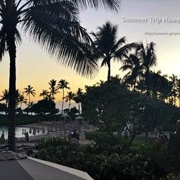 画像 【アウラニ・ディズニー】サンセット後のビーチとプールも素敵でした! の記事より 11つ目