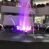 噴水ショーの画像