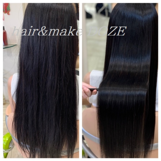 回数を重ねることで艶のある美しい髪へ導きます!