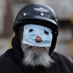 マスクをしない運動が水面下で激しく起きていますの画像