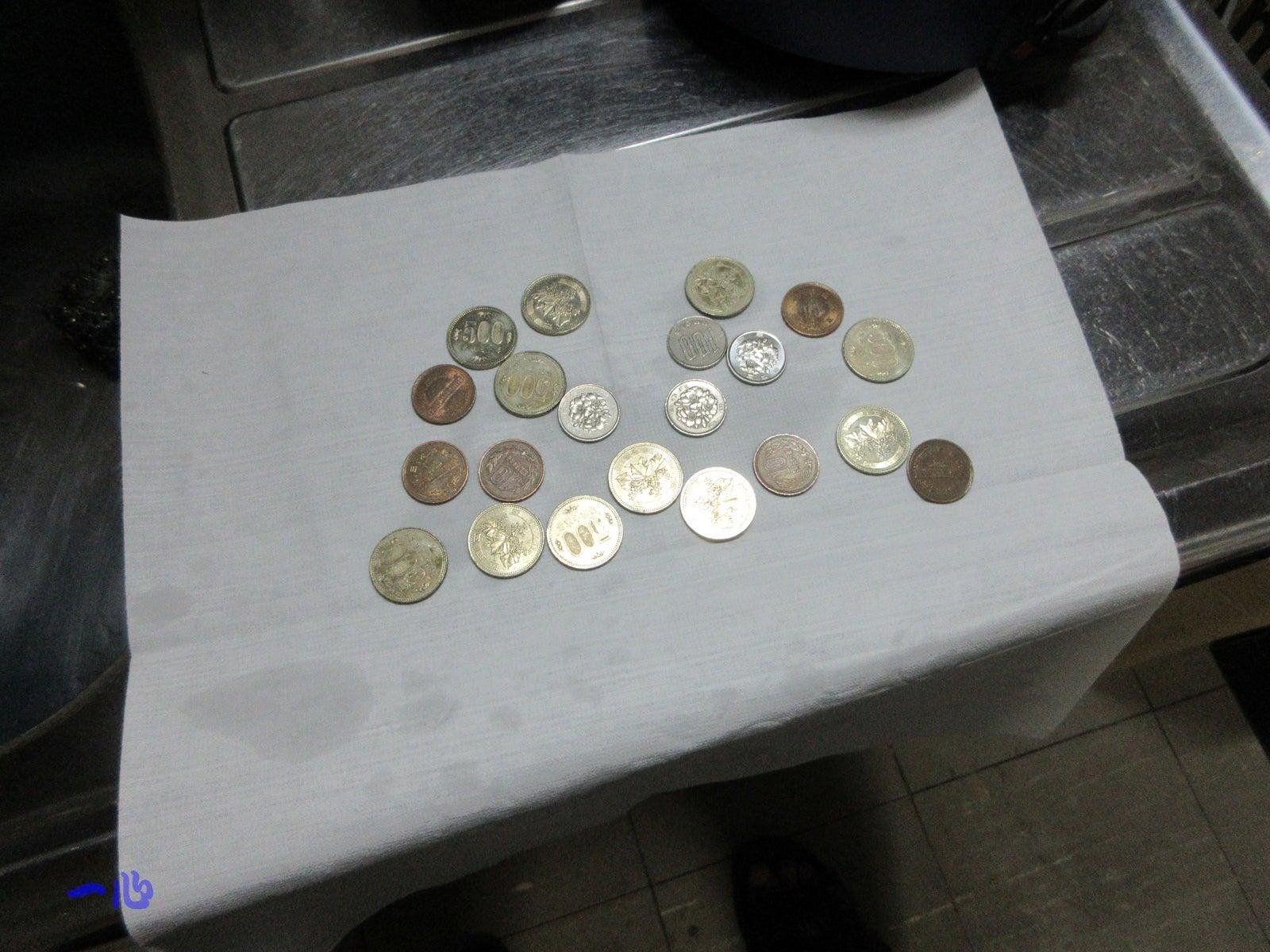 洗い 硬貨 方 の