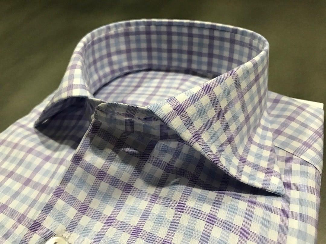 美しい襟のロール感 wear worksオーダーシャツ