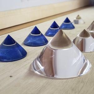 【天然水晶ピラミッド販売】の画像