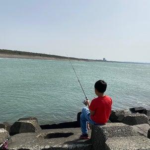 釣り始めましたの画像