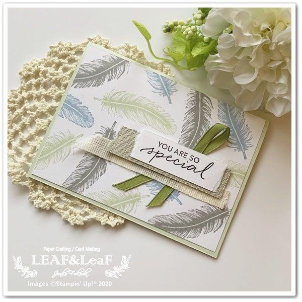 スタンプ 手作りカード