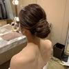 結婚式出張ヘアメイクblog/ 東京會舘のスタイリッシュな花嫁①の画像