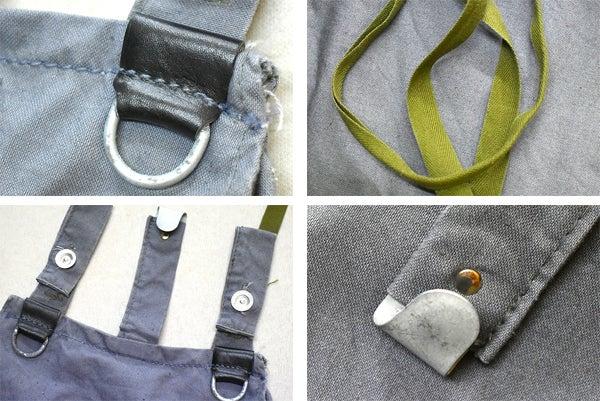 旧東ドイツ軍ブレッドバッグ鞄@古着屋カチカチ