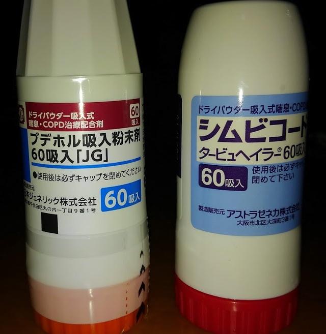 ブデホル 吸入 粉末 剤
