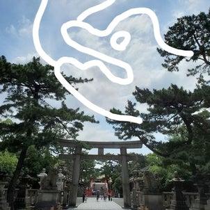 住吉大社の青龍さま&宗像の織姫様と彦星様♡7月7日七夕の日◆天の川ヒーリングやります♪>の画像