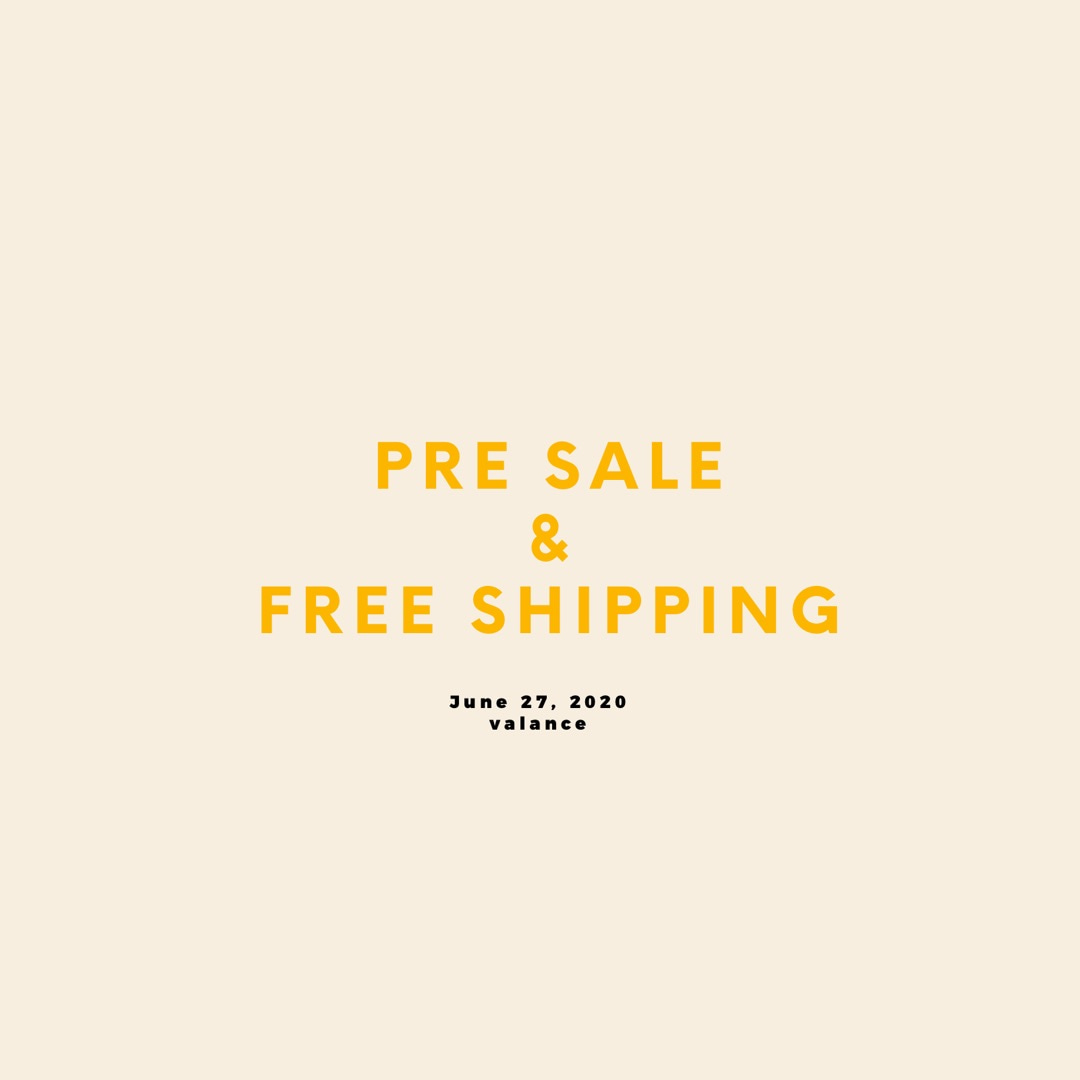 PRE SALE &FREE SHIPPING