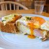 蔵前 ペリカンカフェのモーニングトーストの画像