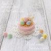 【パステルミニ】可愛いウサギさんの「イースターケーキ」の画像