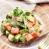 【簡単レシピ】アボカドとサーモンのポキ風サラダ!の画像