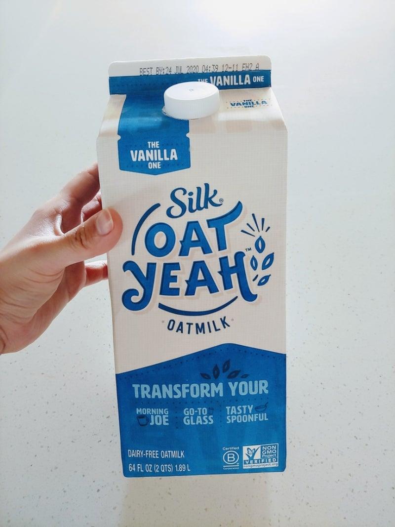 ミルク は オーツ と