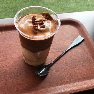 ダルゴナコーヒーパフェ新発売の画像