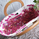 もうすぐ『Koruri BAG展』☆ピンクの小鳥トートバッグのご紹介の記事より