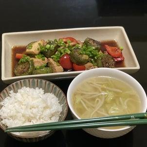 残っている食材で、作ってくれました♡の画像
