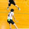 男バレ 練習試合の画像