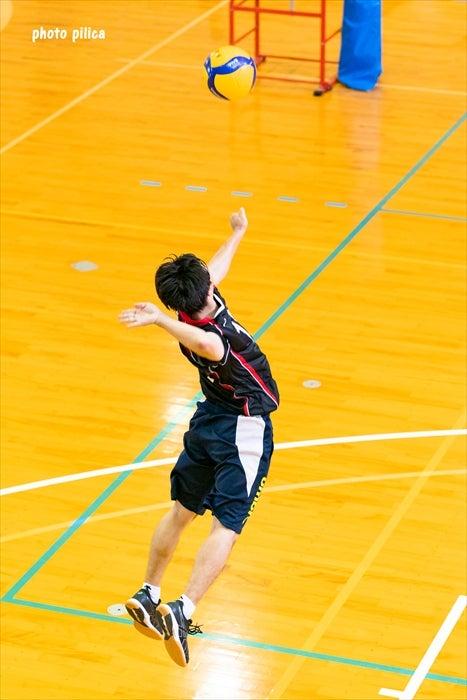 男バレ 練習試合