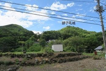 穂坂路を訪ねて   古城の風景