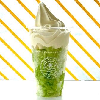 【ミニストップ】ついに新登場!メロンを贅沢に味わえる☆ハロハロ 果実氷メロン