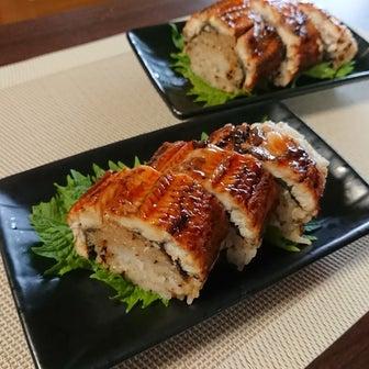 鰻の棒寿司&新しい家族たち