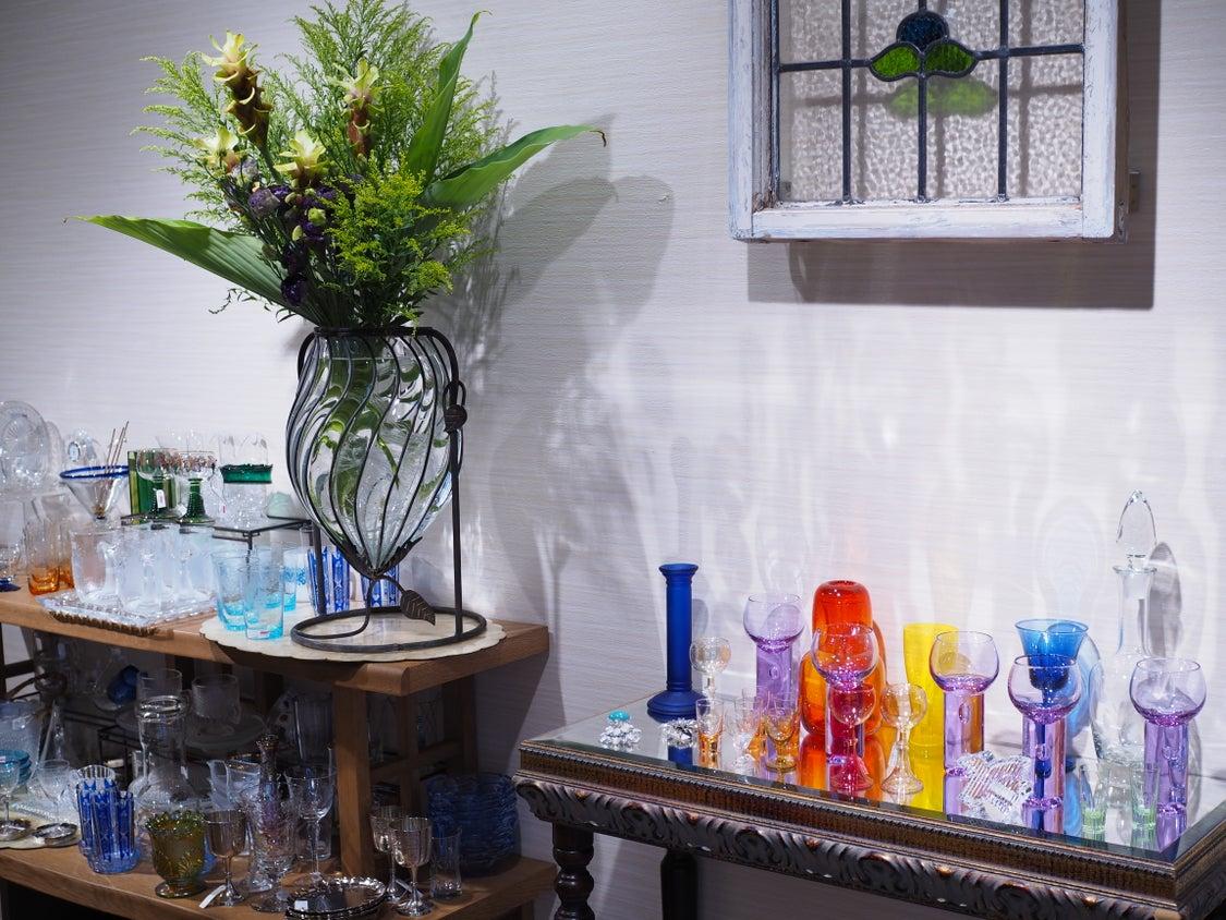 古がん堂「NEO涼感~ガラスとキラキラ~」の記事より
