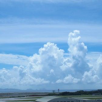 土曜の那覇は31℃の青空真夏日.