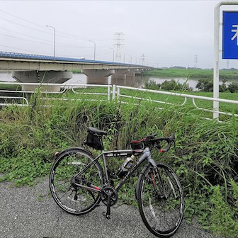新R4・利根川越えサイクリング@2020年7月5日