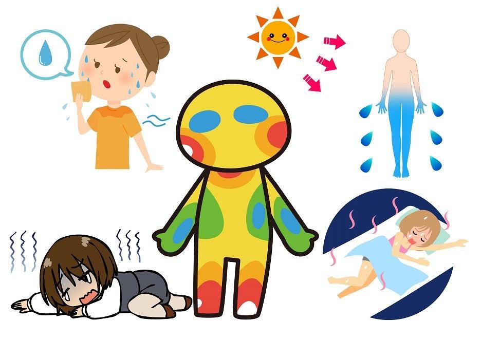 脱脂症状の熱中症