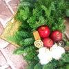 香りいっぱいのフレッシュグリーンのクリスマスリースを作りにの画像