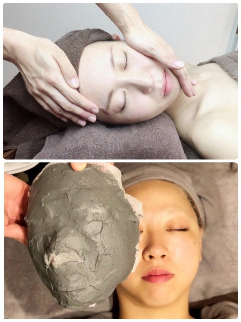 【骨と筋肉にアプローチ】!韓国発祥小顔コルギ60分+石膏パック《7looks  creo西川田店》