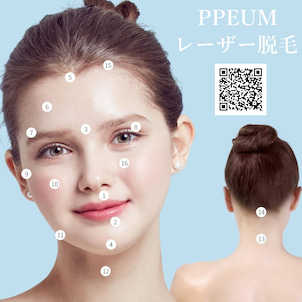 プレミアムレーザー脱毛の部位/機器/イベントの画像