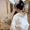 結婚式出張ヘアメイクBlog/ 目黒雅叙園の和婚花嫁さま③ 色打掛のお色直しの画像