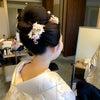 結婚式出張ヘアメイクBlog/ 目黒雅叙園の和婚花嫁さま① 白無垢新日本髪の画像