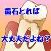 定期健診で「歯石」とっていれば大丈夫なんでしょう?って何が大丈夫なんですか?の画像